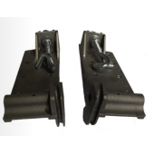 Aluminum Alloy Adjustable Bottom Wheel Bracket